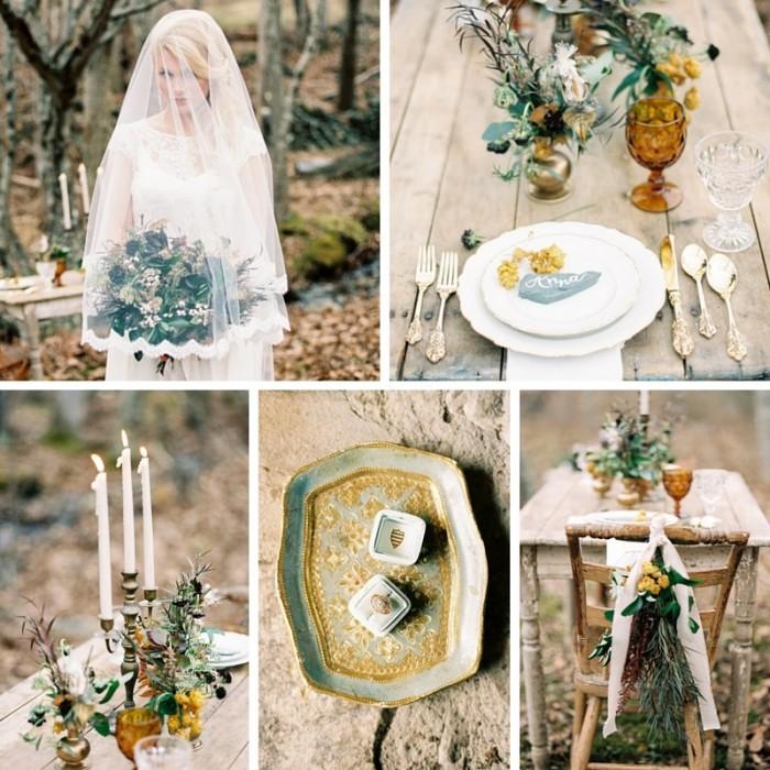 Romantic Woodland Winter Inspiration Shoot // Photography ~ Live View Studios