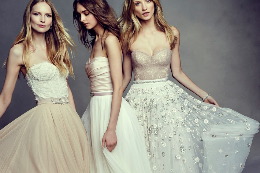 Boho Beauty - Bohemian Wedding Dresses from BHLDN