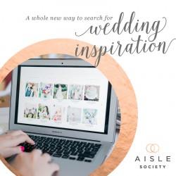 Wedding Inspiration on Aisle Society