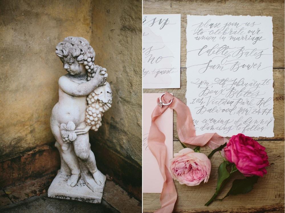 Calligraphy Wedding Invitation // Photography ~ White Images