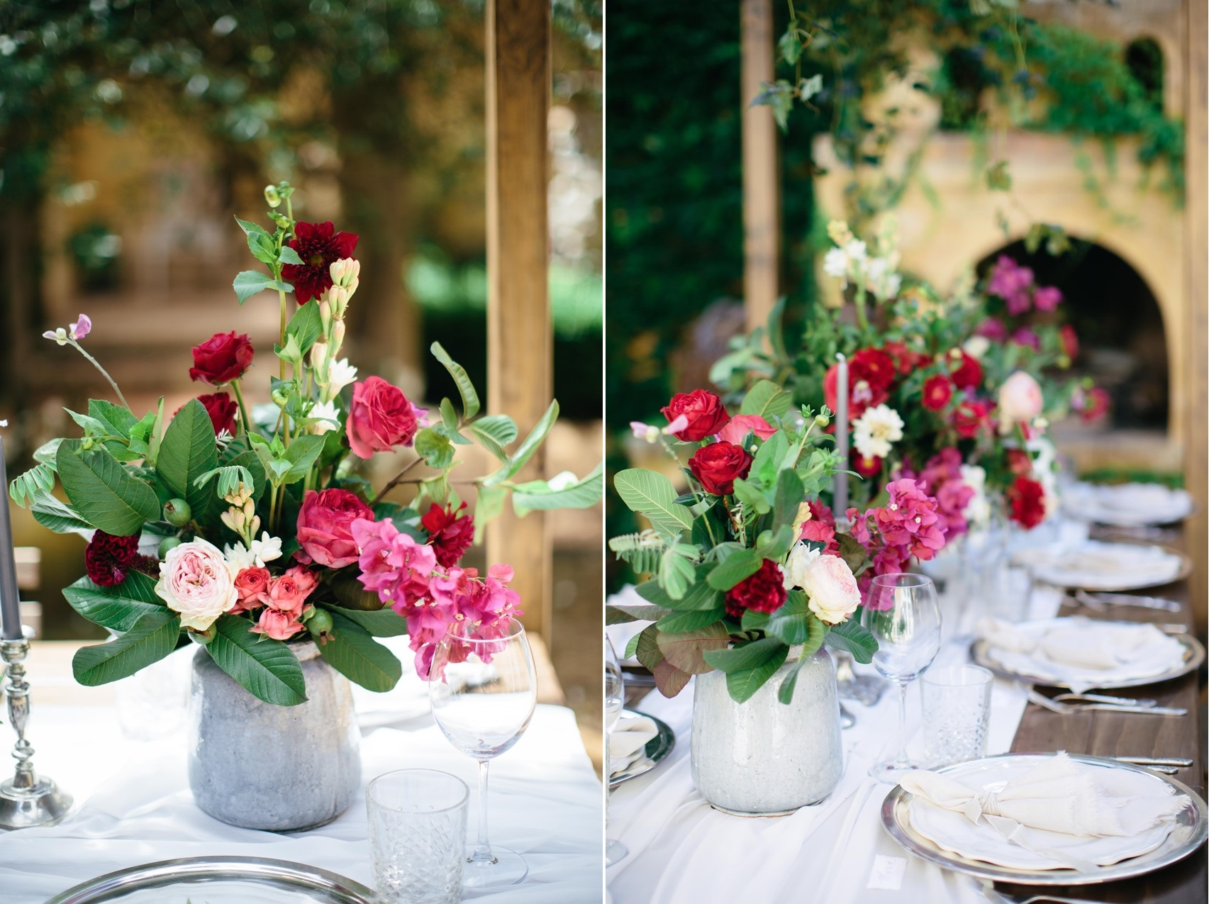 Boho Wedding Reception Decor // Photography ~ White Images