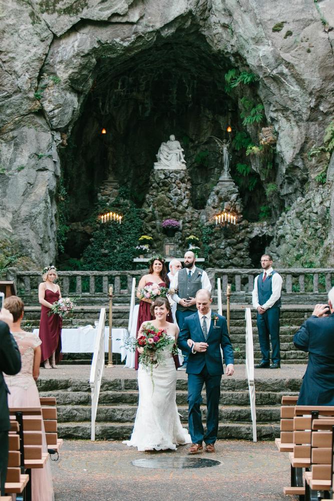 The Grotto, Portland Wedding // Photography ~ Maria Lamb