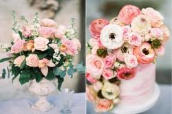 Romantic Pink Wedding Cake // Photography ~ Chymo More