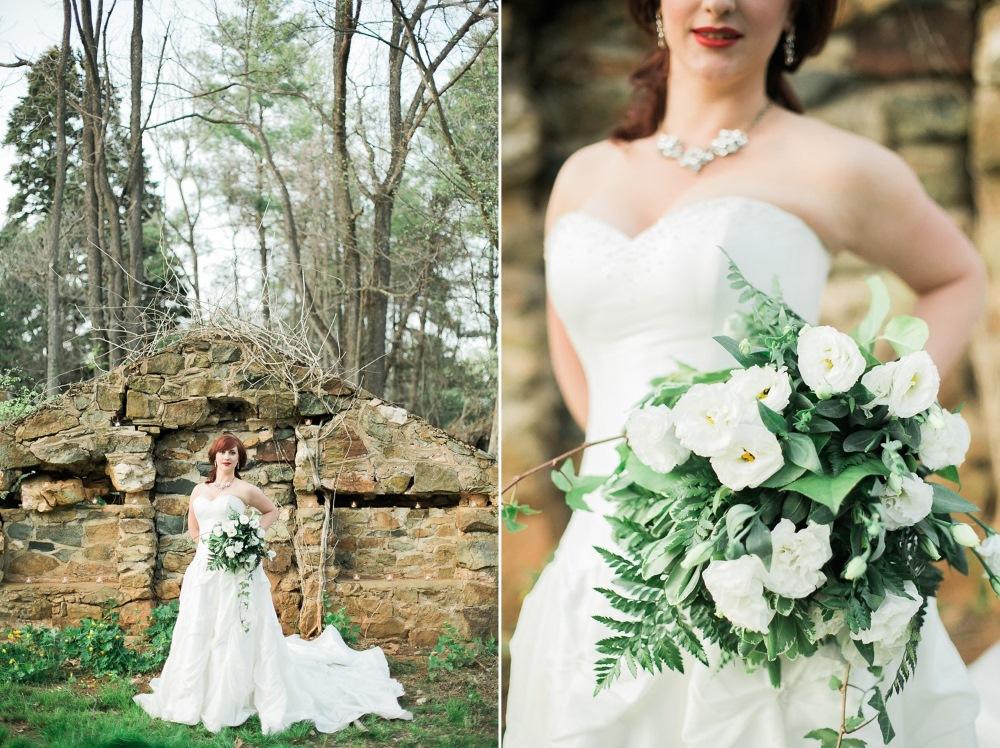 Vintage Inspired Bridal Look // Photography ~ Sharmila Photography