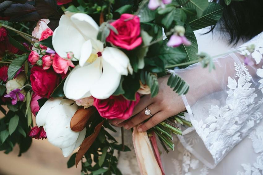 Stunning Boho Diamond Engagement Ring // Photography ~ White Images