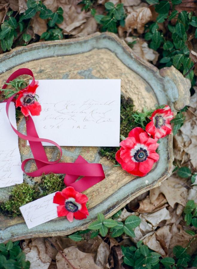 Calligraphy Wedding Stationery // Photography ~ Kurtz Orpia Photography