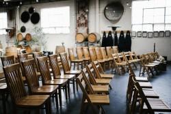 Indoor Wedding Ceremony Seating