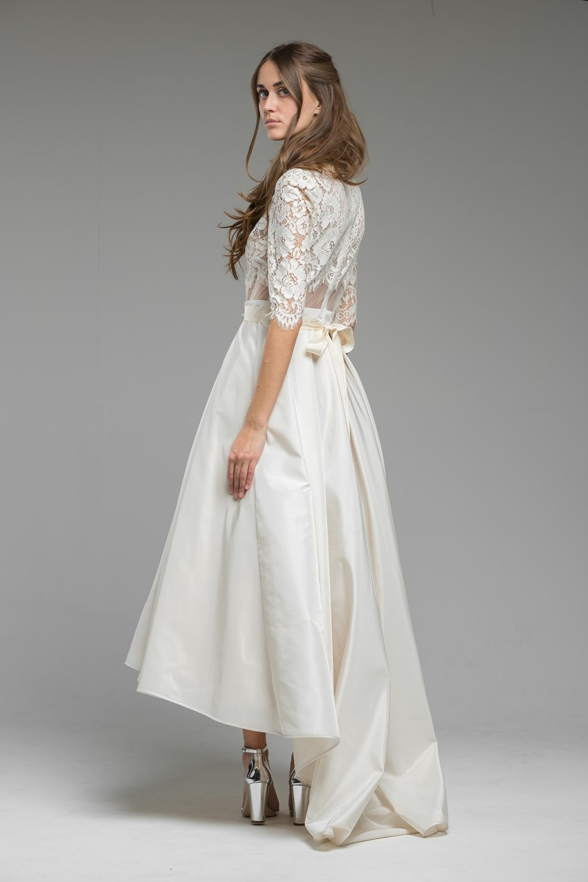 Striking Hi-low Wedding Dress 'Summer' from Katya Katya Shehurina