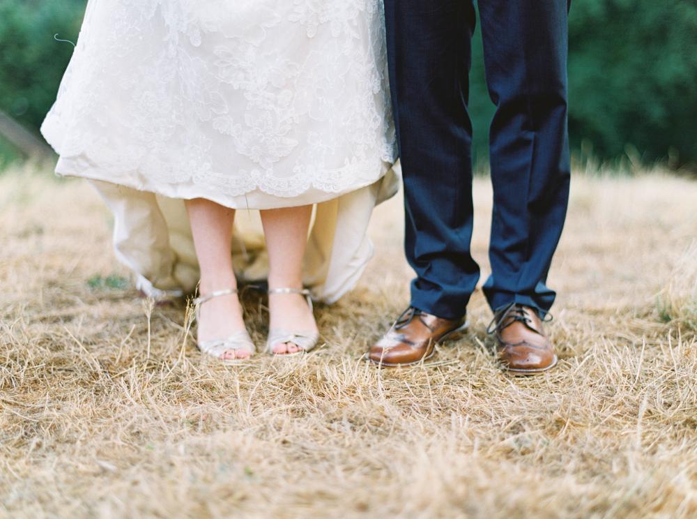 Bridal Shoes // Photography ~ Maria Lamb
