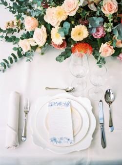 Elegant Wedding Place Setting // Photography ~ Chymo More