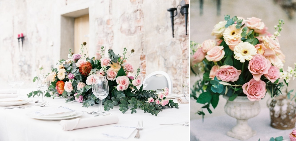 Romantic Wedding Tablescape // Photography ~ Chymo More