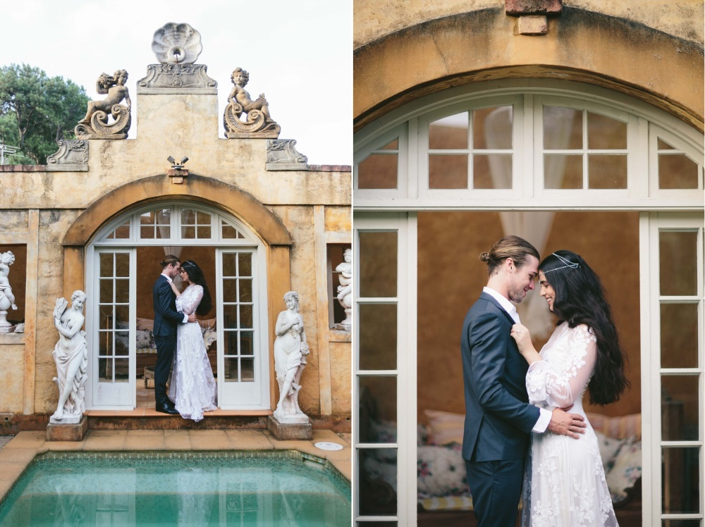 Modern Vintage Bride & Groom // Photography ~ White Images