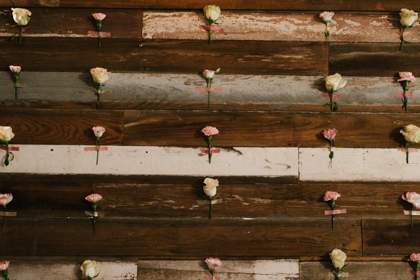 Floral Wall Bridal Shower Decor