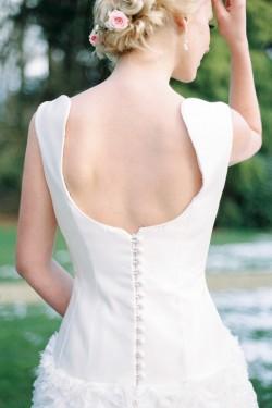 Wedding Dress Back Detail // Photography ~ Chymo More