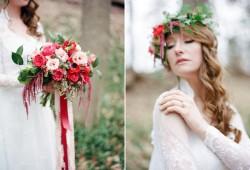 Ethereal Woodland Bridal Look // Photography ~ Kurtz Orpia Photography