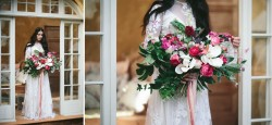Vintage Boho Bridal Bouquet // Photography ~ White Images