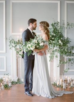 Romantic Modern Vintage Wedding Ideas // Photography ~ Artiese Studios