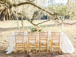 Southern Wedding Tablescape // Photography ~ The Happy Bloom