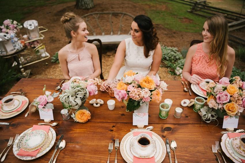 Bridal Shower Tablescape Ideas