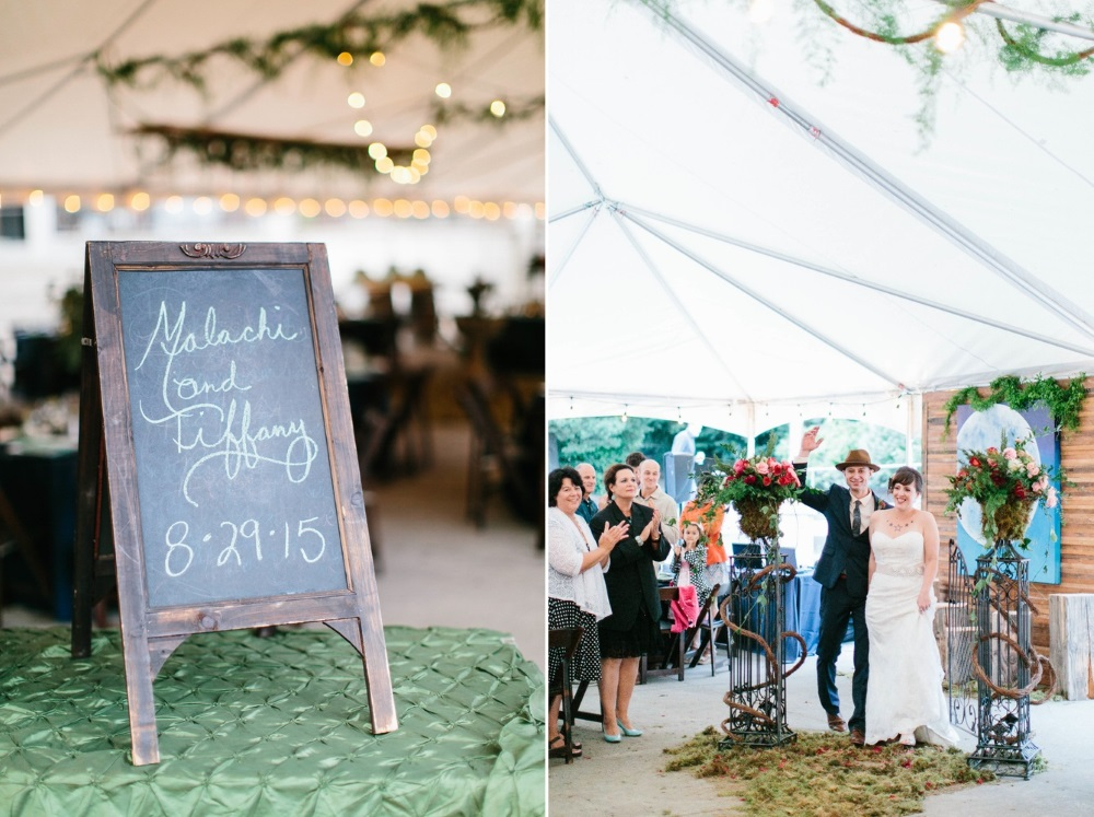 Grand Wedding Entrance // Photography ~ Maria Lamb