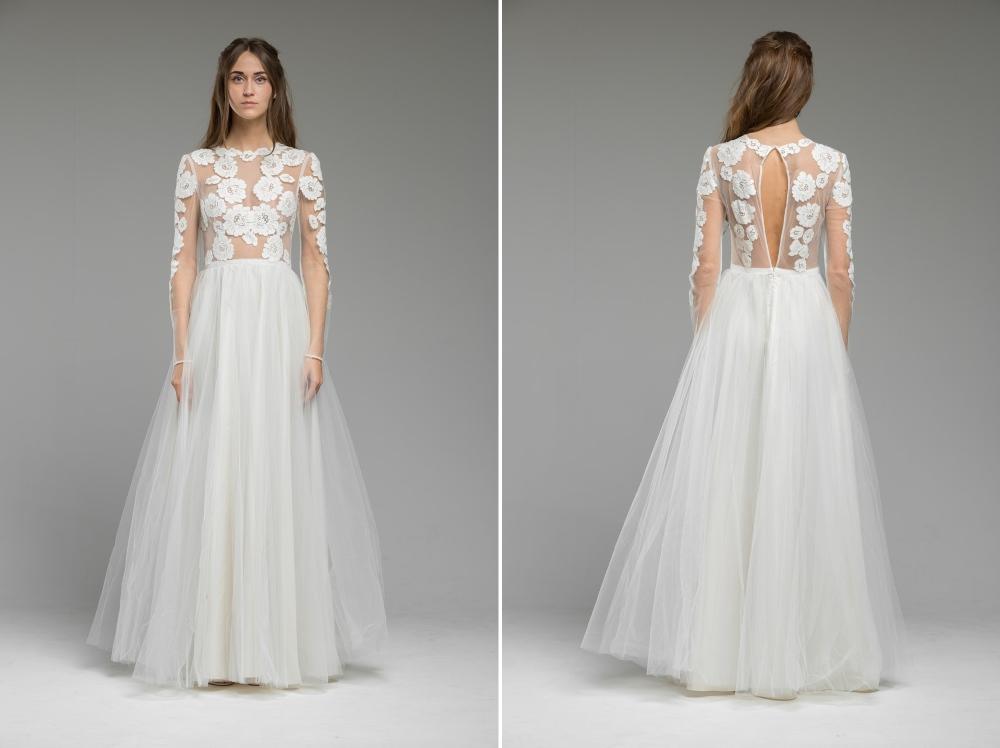 'Irene' Wedding Dress from Katya Katya Shehurina's 2017 Bridal Collection