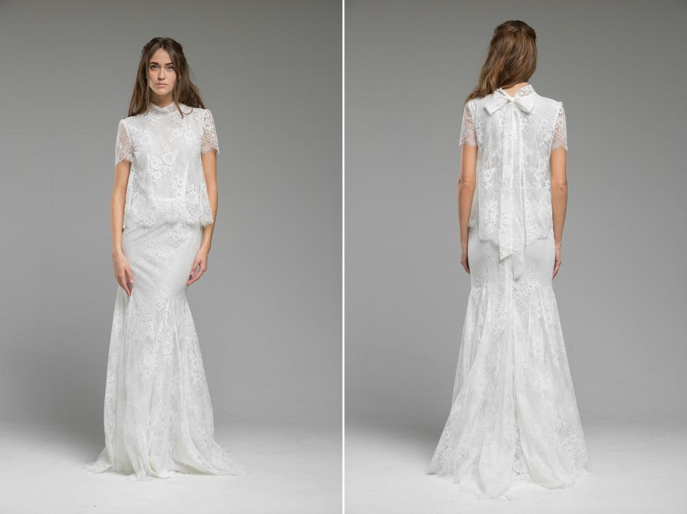 'Ariel' Wedding Dress from Katya Katya Shehurina's 2017 Bridal Collection