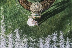 Dreamy Garden Wedding Ceremony Decor // Photography ~ Chymo More