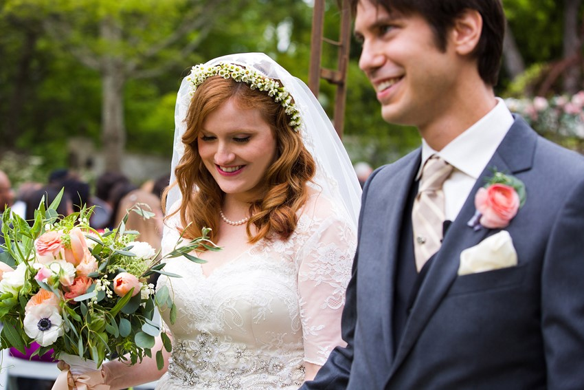 Vintage Garden Wedding // Photography ~ Mike Reed Photo