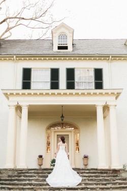 Elegant Vintage Inspired Wedding Shoot in White & Green // Photography ~ Sharmila Photography