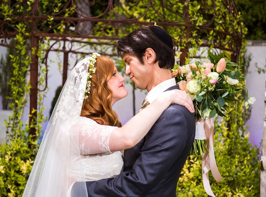 Jewish Vintage Garden Wedding // Photography ~ Mike Reed Photo