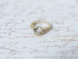 Vintage Engagement Ring // Photography ~ Kurtz Orpia Photography