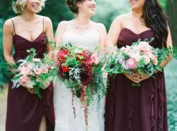 Cascading Bridal Bouquet // Photography ~ Maria Lamb