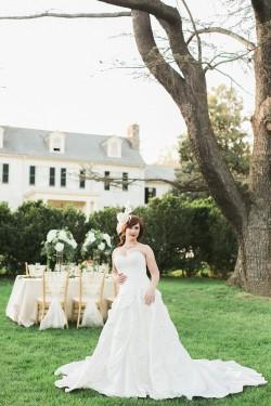 Elegant Vintage Inspired Garden Wedding Ideas // Photography ~ Sharmila Photography