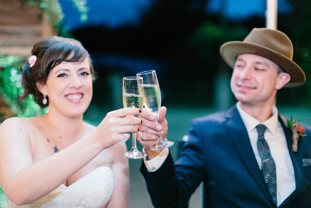 Wedding Toast // Photography ~ Maria Lamb