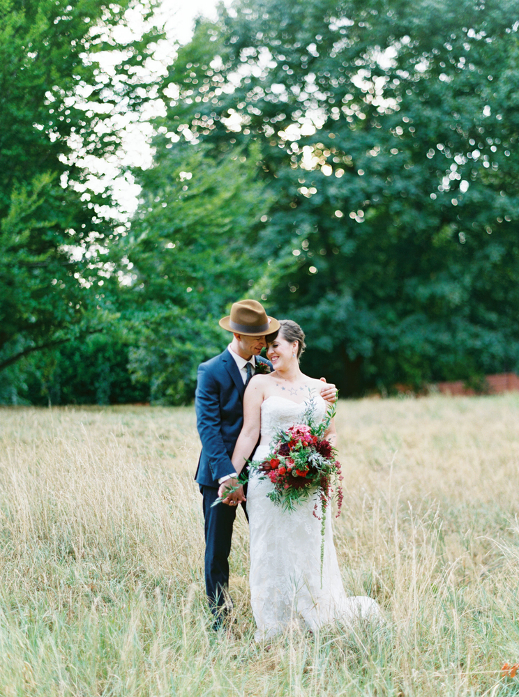 Romantic Wedding Portrait // Photography ~ Maria Lamb