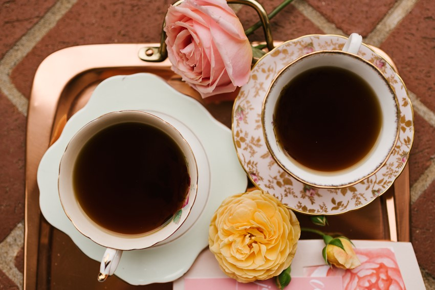 A Coffee Lovers Bridal Shower
