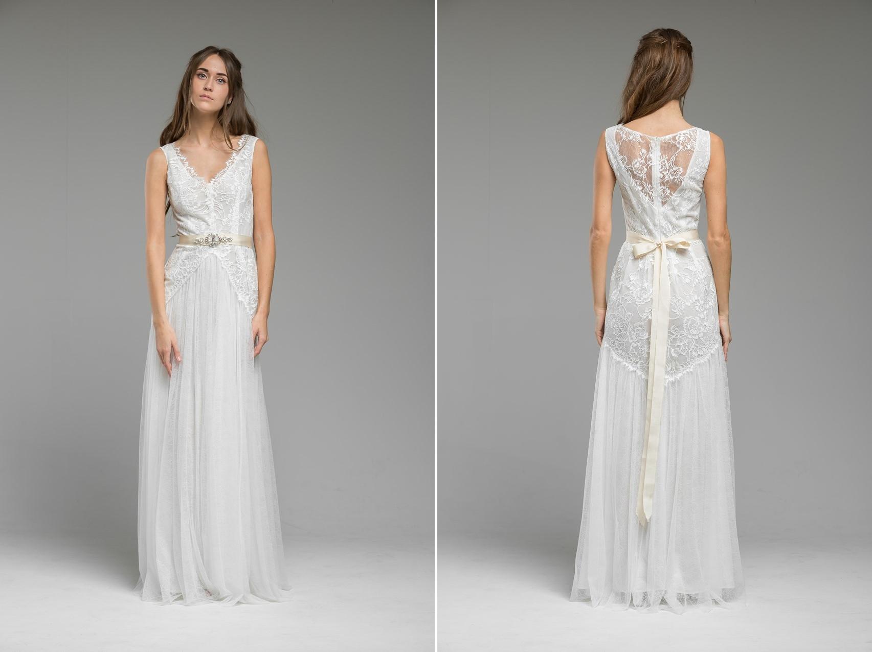 Romantic Lace Wedding Dress 'Opal' from Katya Katya Shehurina