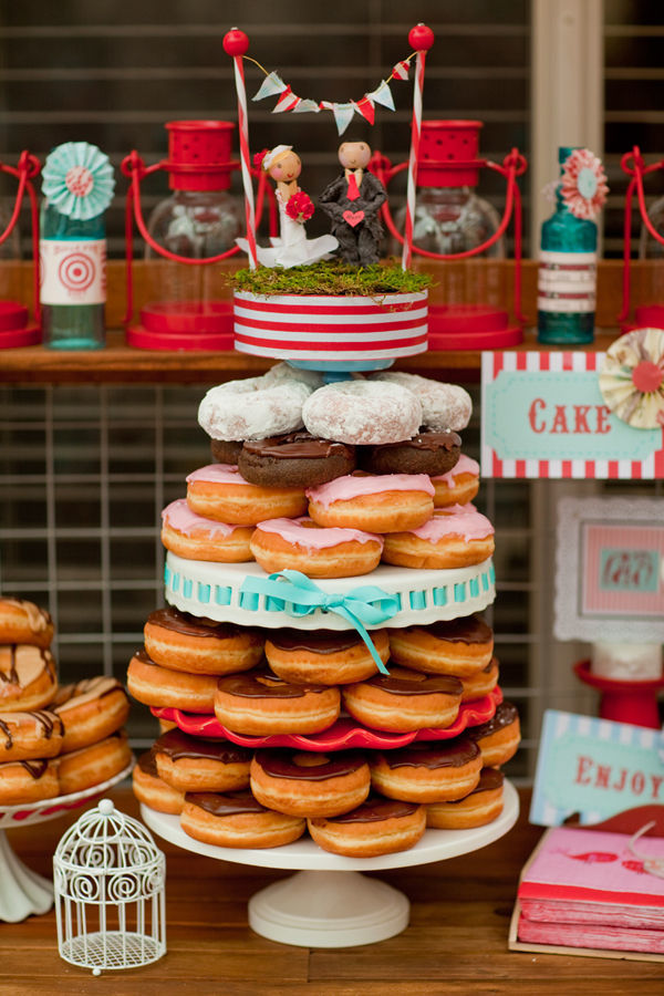 Doughnut Tower - Wedding Cake Alternative