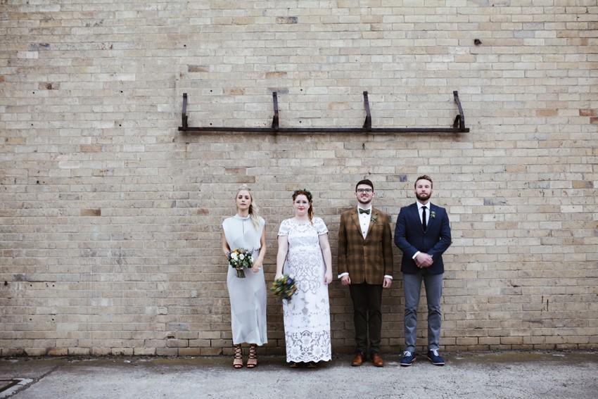 Mismatched Bridal Party