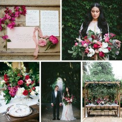 French Bohemian Wedding Inspiration Shoot at the Romantic Deux Balettes // Photography ~ White Images