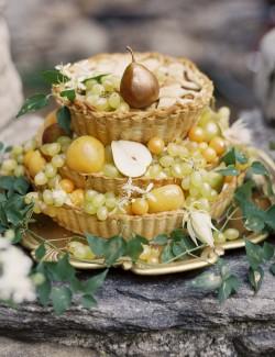 Fruit Pie Wedding Cake