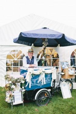 Ice Cream Cart - Alternative Wedding Cake