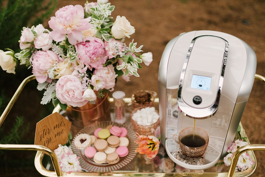 Self Serve Bridal Shower Drinks Ideas