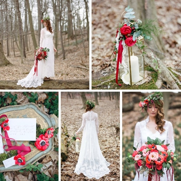 Love Letter Creative - A Woodland Bridal Shoot