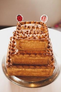 Pok Pie Tower - Alternative Wedding Cake