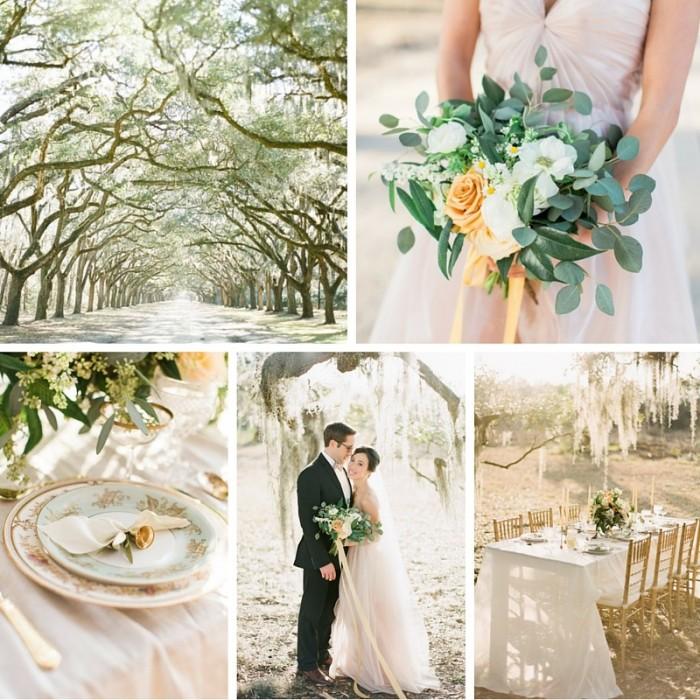 Soft Blush Wedding Inspiration Full of Southern Romance