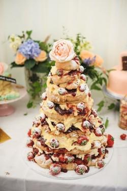 Scone Wedding Cake