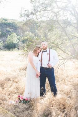 A Romantic Boho Wedding Anniversary Shoot