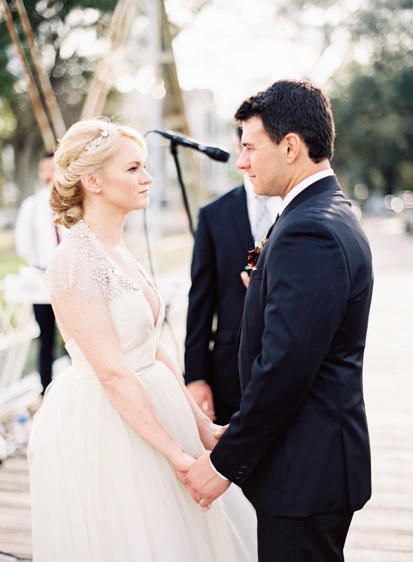 Emotional wedding ceremony // Photography ~ Marissa Lambert Photography