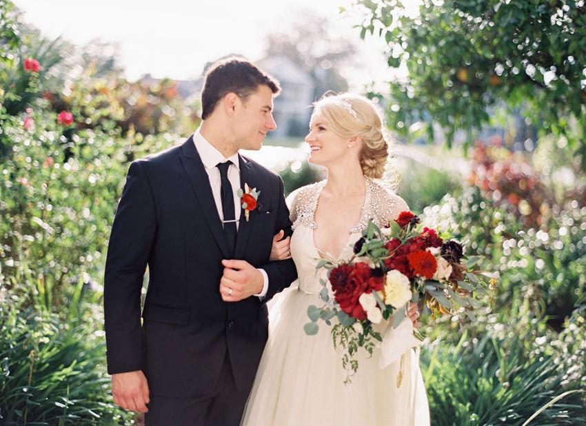 Romantic Bride & Groom // Photography ~ Marissa Lambert Photography